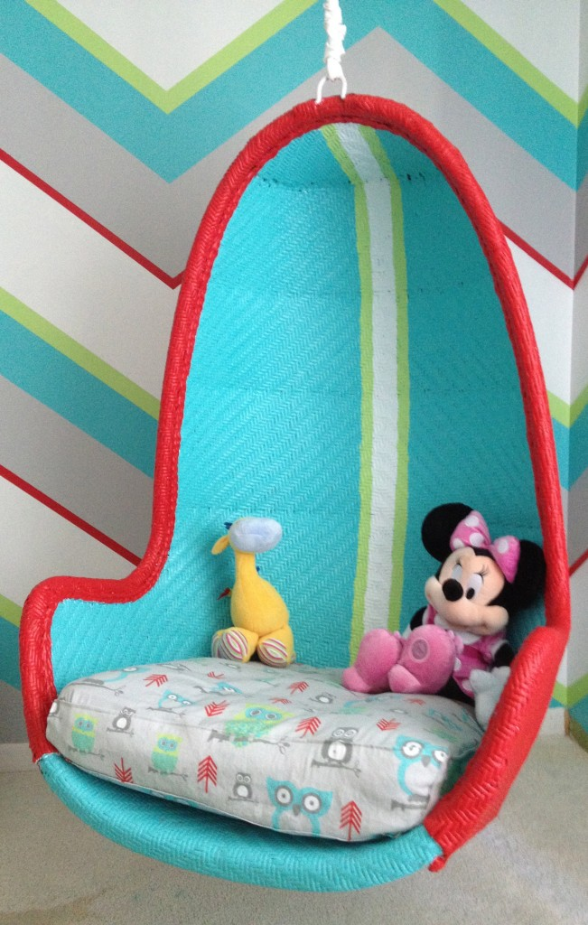 colorful choices of hanging chairs for your kids homesfeed