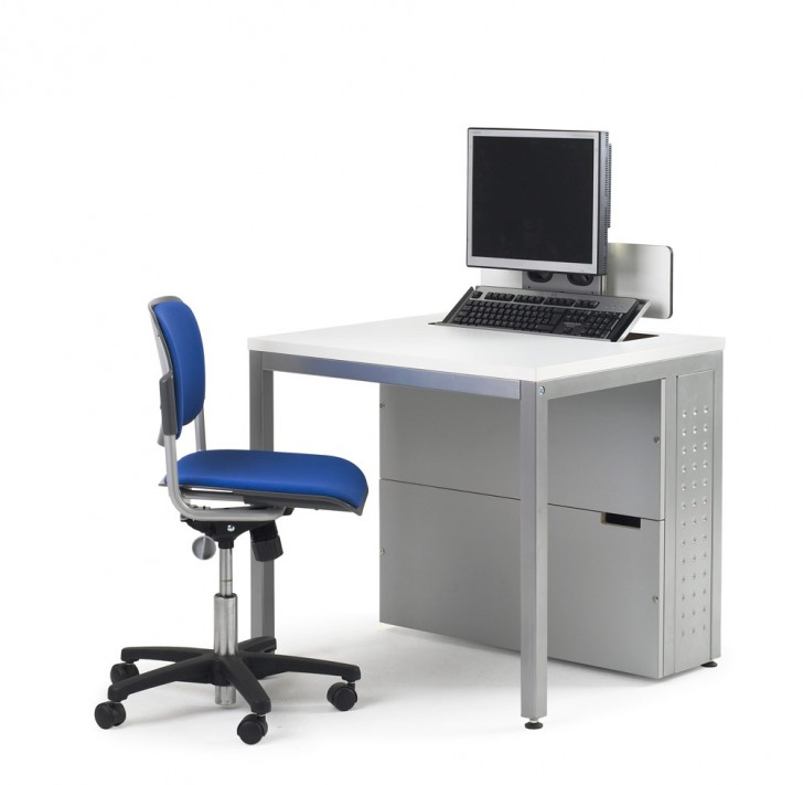 Smart Choice of Small Slim Computer Desk | HomesFeed