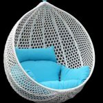 nice-adorable-wonderful-creative-modern-cool-chairs-that-hang-from-the-ceiling-with-nice-white-elastical-design-with-blue-pilows
