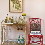 nice-cool-adorable-luxurious-fantastic-Modern-shelve-Bar-Carts-with-metal-frame-concept-design-with-gold-coloring-design