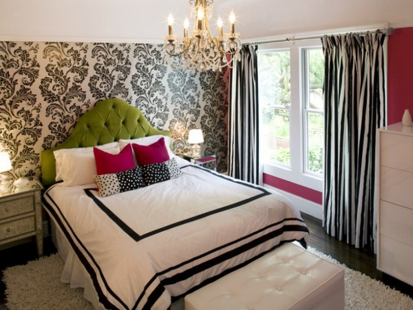 nice-decorating-ideas-bedroom-fabulous-tween-girl-bedroom-ideas-featuring-faux-floral-wallpaper-match-with-coral-pink-wall-paint-and-furnished