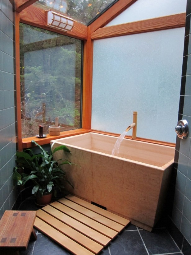 Soaking tubs for small bathrooms homesfeed - Small bathroom remodel with tub ...