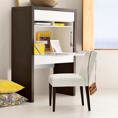 Awesome Desk Design for Small Space - HomesFeed