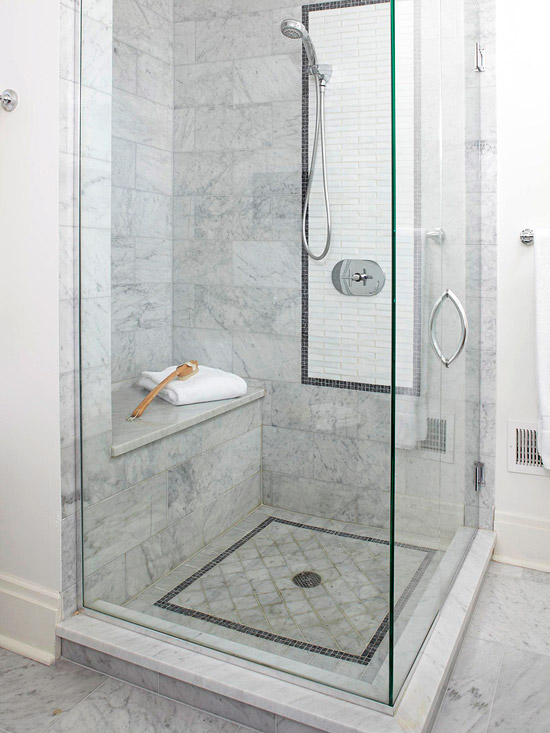 3 knob shower faucettile designs for walk in showers. Simple Minimalist White Walk In Shower Room With Glass Door Panels Plus  Handle A Ideal Walk In Shower Dimensions HomesFeed