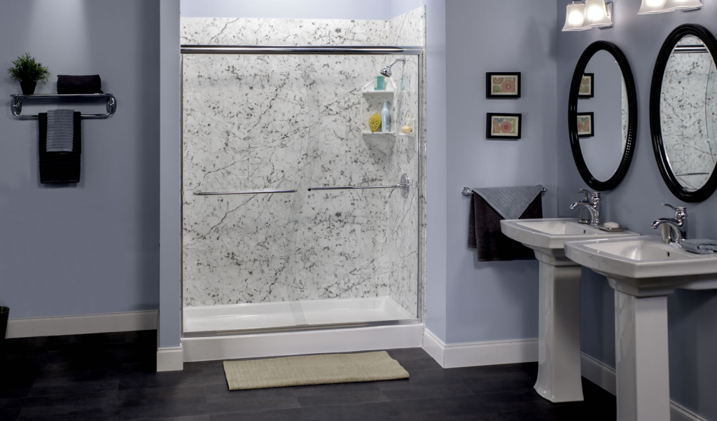 Small Shower E With Gl Panel Beautiful Tiles System For Wall Mini Floating Shelves On