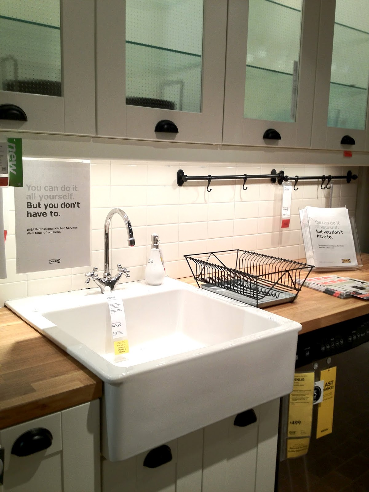 Farm Sink Ikea: Its Special Characteristics And Materials