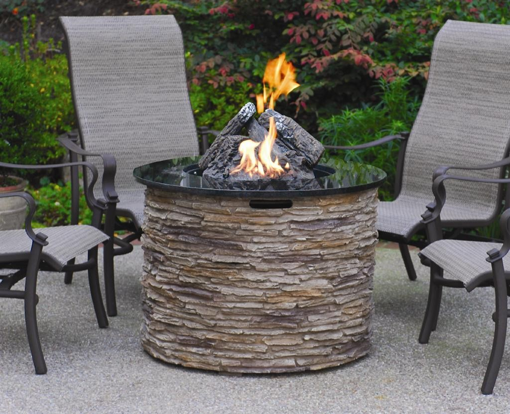 small fire table patio furniture unique fire pit table idea for outdoor area with stylish chairs fire table kit ideas outdoor patio homesfeed