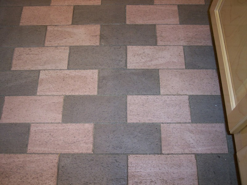 Bring basement floor covering more vivid homesfeed for Unusual floor coverings