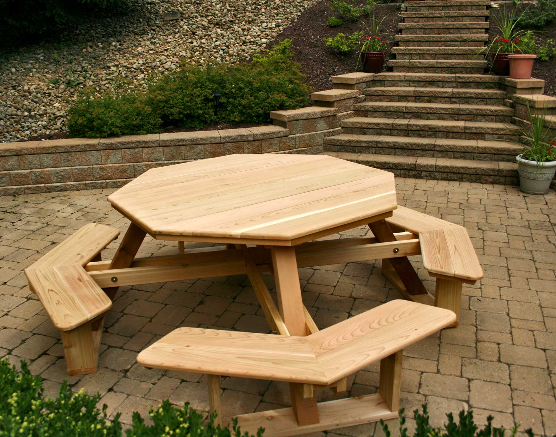 Picnic Table Dining Room Furniture