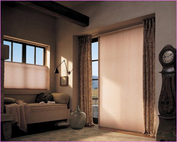 Tips of How to Select the Window Treatment for Sliding Glass Door ...