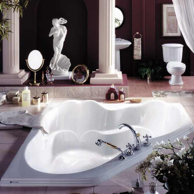 Create A Romantic Scenery By Enjoying Bath Session On