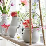 wonderful-classic-nice-adorable-cute-shelve-hanging-plants-with-nice-wooden-board-made-concept-with-some-rope-design-for-colorful-flowers