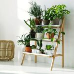 wonderful-cool-adorable-nice-simple-small-shelve-hanging-plants-with-design-sponge-diy-hanging-pots-like-ladder-design