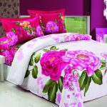 Wonderful Cool Beautiful Nice Adorable Huma Most Fancy Modern Bed Sheets Collection With Rose Drawing Concept With White Background For Couple Bed 728x546