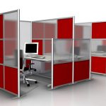 Wonderful Cool Nice Amazing Adorabel Office Divider With Office Divider Partition Walls In Red And Transparent White Glass Small Concetp
