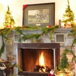 wonderful-cool-nice-decorations-splendid-fireplace-and-mantel-christmas-decorating-idea-with-plants-attractive-fireplace-and-mantel-decorating-ideas-specially-crafted--728x621