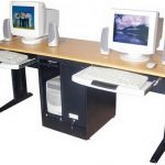 wonderful-nice-adorable-amazing-new-two-person-desk-person-computer-desk-with-trundle-keyobard-storage-with-double-legs-728x546