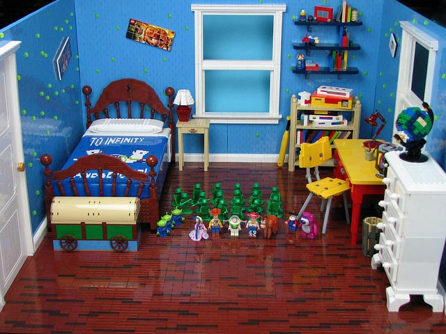 adorable cool modern toy story bedroom decoration with lego bedroom