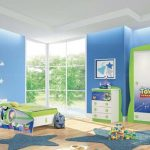 wonderful-nice-adorable-cute-modern-toy-story-bedroom-decor-with-nice-closet-design-concept-with-picture-of-buzz-and-cabinet-small-design