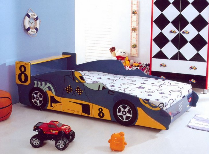 Adorable Realistic Race Car Bed Design For Toddlers Homesfeed