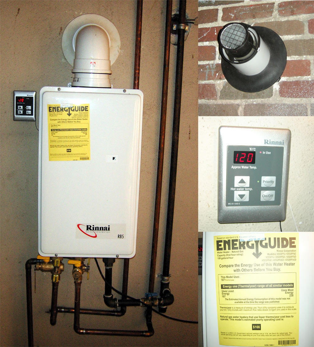 Beneficial Tankless Water Heater Installation That Save For Environment  U2013 Homesfeed