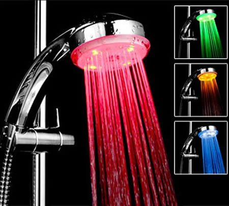 10 cool shower heads choices homesfeed - Different showers ...