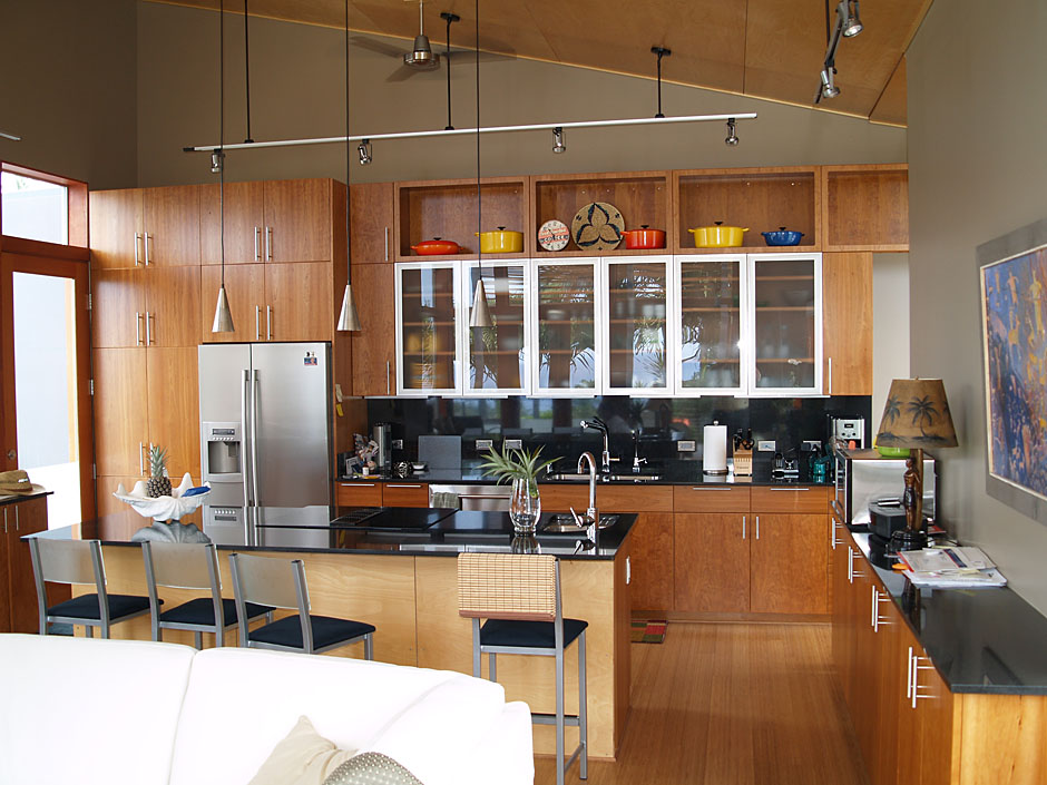 Mid century modern kitchen cabinets recommendation homesfeed Kitchen cabinet design modern