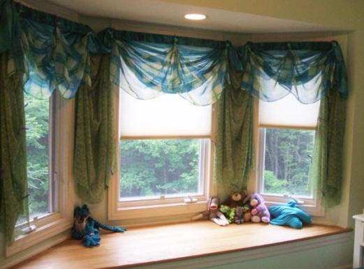 Stunning Concept Of Drapes For Bay Window Homesfeed
