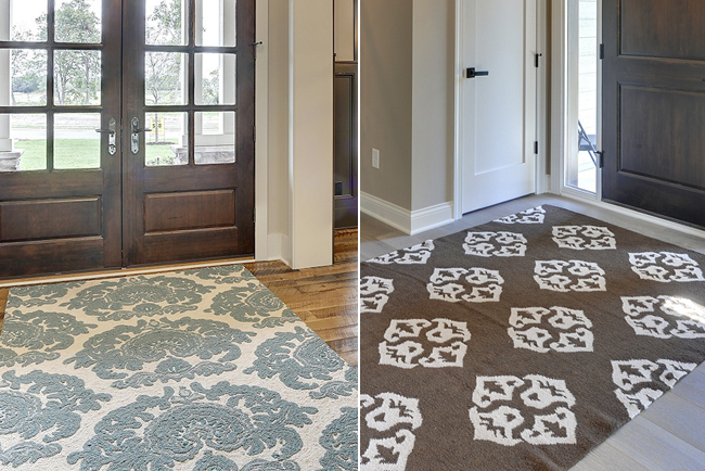 Foyer Rug Size : Elegant entryway rugs design for your home decoration