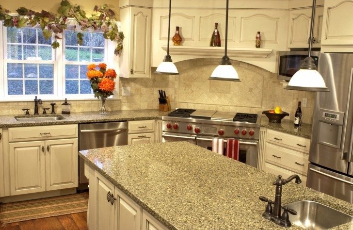 Amazing Kitchen Furniture Alluring Countertop Options Granite Overlay