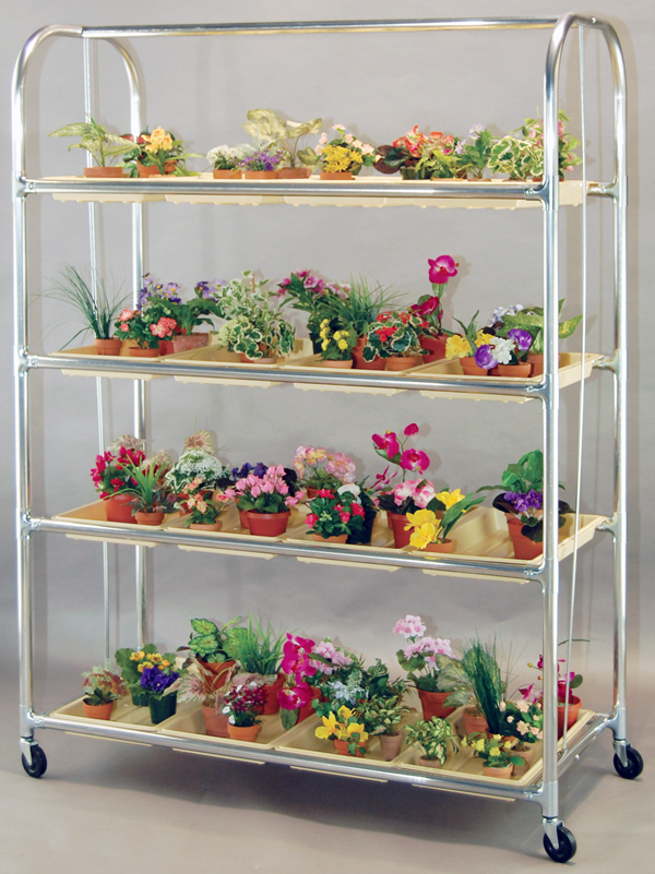 Indoor plant shelves insert natural appeal into the fresh for Plant shelf plans