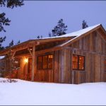 amazing-nice-cool-classic-traditionla-small-rustic-cabin-plan-with-wooden-made-concept-in-forest-with-snow-season