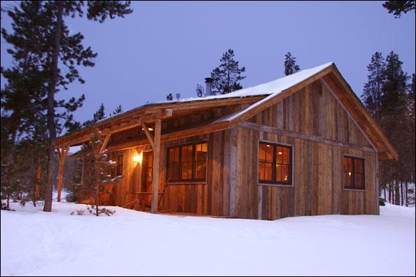 Small Rustic Cabin Plan With Preferable Design Homesfeed