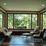 best energy efficient windows of solar energy in casement and fixed picture design plus wood frame in living room with garden view
