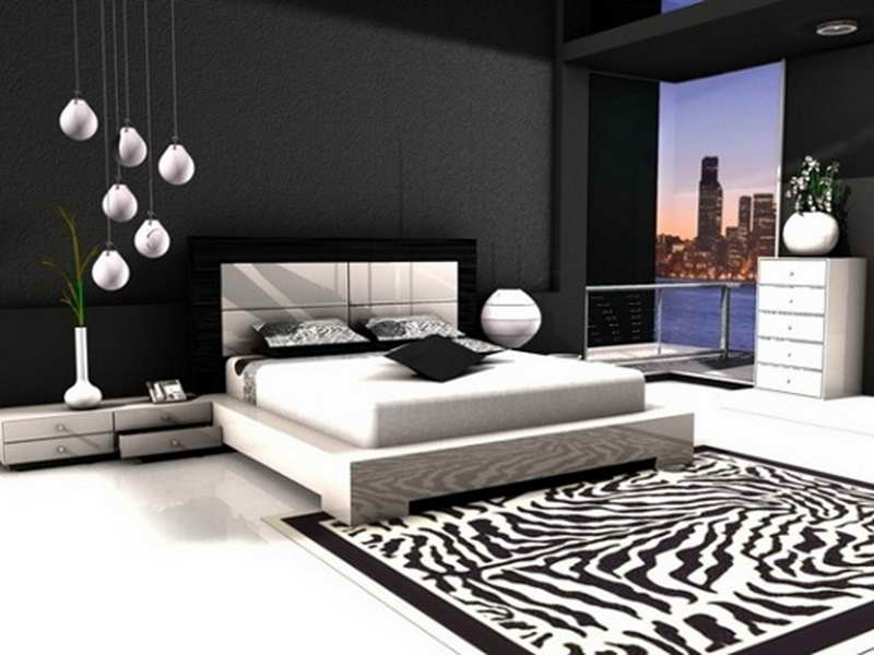 The Elegance Of White And Black Bedroom Ideas That You Can Apply - White and black bedroom ideas