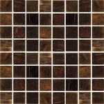 brown dark  natural stones mosaic tile product by Casa Italia