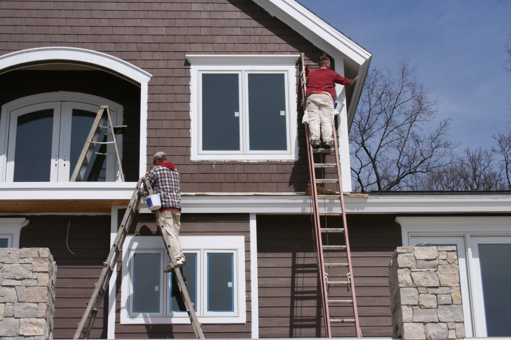 remove the dullness and uninteresting outlooks in your On exterior painting