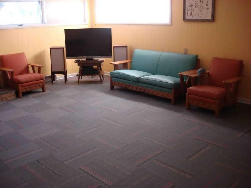 Basement floor covering best options based on public for Rugs for basement floors