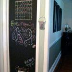 chalkboard front door