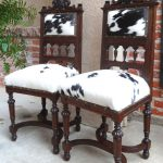 classic cowhide chairs for dining room