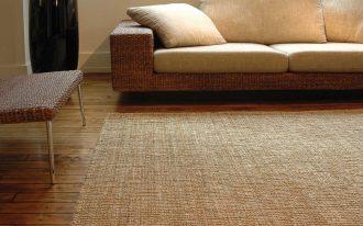 cleaning soft jute rugs kilimanjaro brown in living room