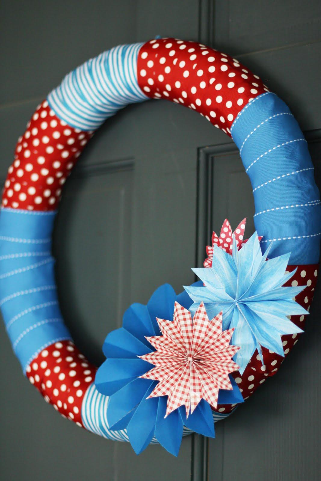 8 Ideas of Fourth of July Wreath by DIY | HomesFeed