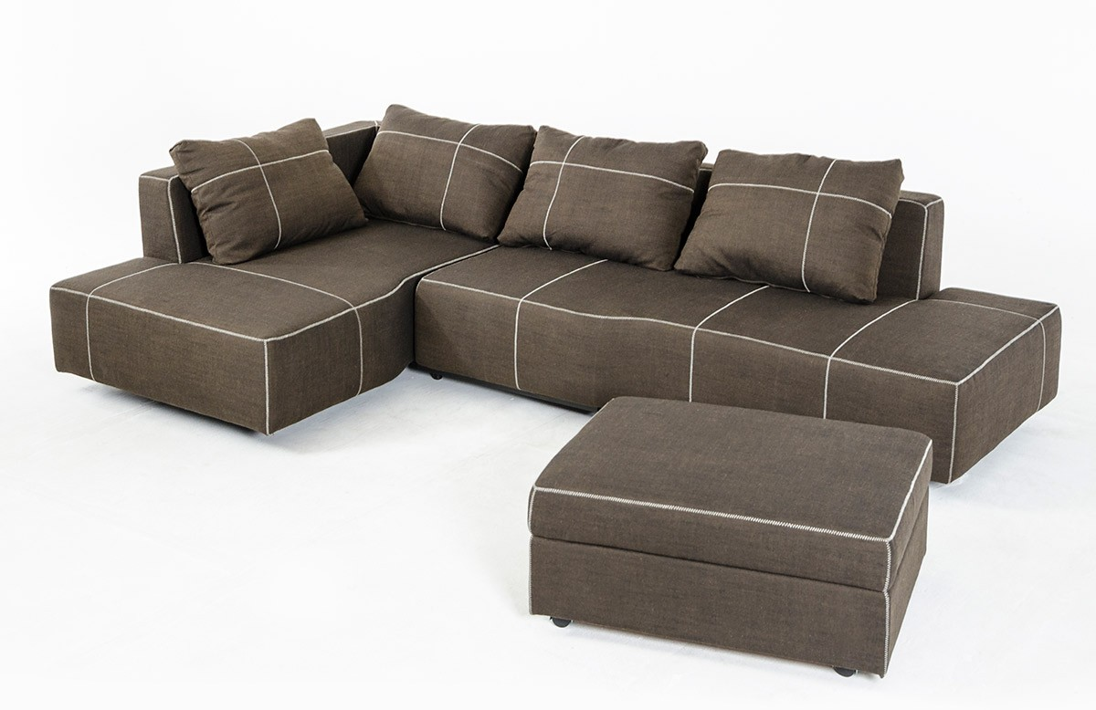 Double chaise sectional sofas type and finishing homesfeed for Chaise couch sectional