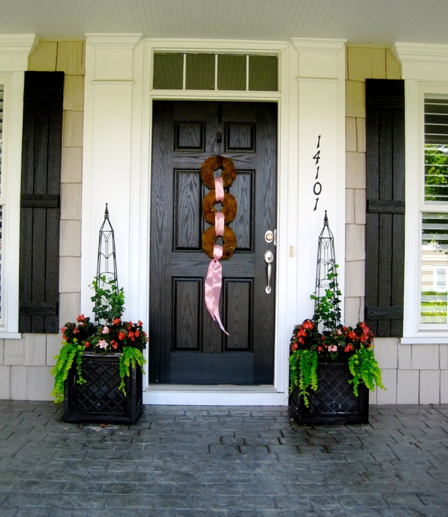 21 Cool Front Door Designs For Houses: Cool Front Door Invites Every Eye With Excellent