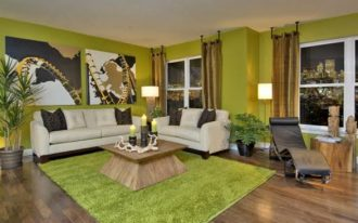 cool-fresh-nice-modern-exotic-living-room-in-green-brown-earth-tone-and-wooden-furniture-with-wooden-original-flooring-design