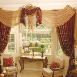 coolest-nice-adorable-indian-arabian-drapes-for-bay-window-with-red-kingdom-beautiful-cloth-concept-for-wonderful-beautiful-living-room