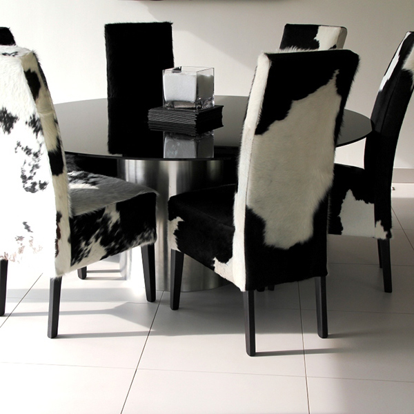 Cowhide Dining Chairs: Fun and Stylish Choice of Dining Furniture : HomesFeed