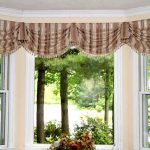 creative-adorable-awesome-elegant-Window-Treatments-for-Bay-Windows-ideas-with-simpe-brown-cloth-design-for-compact-bay-window