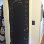 creative chalk front door
