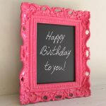 creative-nice-cool-simple-small-framed-chalkboard-with-photo-frame-concept-with-nice-black-board-with-happy-birthday-writing-